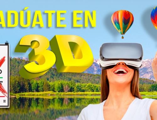 GRADÚATE EN 3D